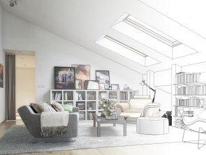 Dachgeschoss-Ausbau (Entwurf)
